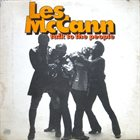 LES MCCANN Talk to the People album cover