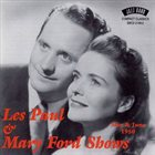 LES PAUL Les Paul & Mary Ford Shows : May & June 1950 (Live) album cover