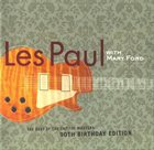 LES PAUL The Best Of The Capitol Masters: 90th Birthday Edition (with Mary Ford) album cover