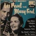 LES PAUL The Hit Makers! (with Mary Ford) album cover