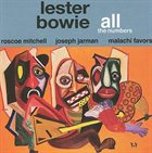 LESTER BOWIE All the Numbers album cover