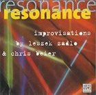 LESZEK ŻĄDŁO Resonance Improvisations by Leszek Zadlo & Chris Beier album cover