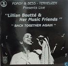 LILLIAN BOUTTÉ Back Together Again (Live At Porgy & Bess, Terneuzen) album cover