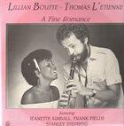 LILLIAN BOUTTÉ Lillian Boutte - Thomas L'Etienne : A Fine Romance album cover