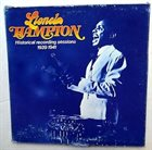 LIONEL HAMPTON Historical Recording Sessions 1939-1941 Vol 2 album cover