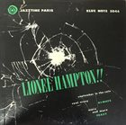 LIONEL HAMPTON Jazztime Paris album cover
