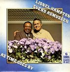 LIONEL HAMPTON Lionel Hampton And Svend Asmussen ‎: As Time Goes By album cover