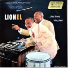 LIONEL HAMPTON Lionel ...Plays Drums, Vibes, Piano (aka  Lionel) album cover