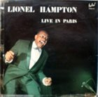 LIONEL HAMPTON Live In Paris album cover