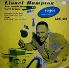 LIONEL HAMPTON New Sounds From Europe Vol 2 France album cover
