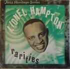 LIONEL HAMPTON Rarities album cover