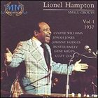 LIONEL HAMPTON Small Groups, Volume 1: 1937 album cover