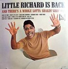 LITTLE RICHARD Little Richard Is Back (aka Star-Club Kings Of Beat 1) album cover