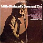 LITTLE RICHARD Little Richard's Greatest Hits Recorded Live (aka Grandes Exitos aka El Show De Little Richard (Ricardito)) album cover