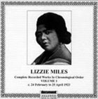 LIZZIE MILES Complete Recorded Works, Vol. 1 (1922-23) album cover