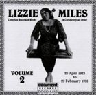 LIZZIE MILES Complete Recorded Works, Vol. 2 (1923-28) album cover