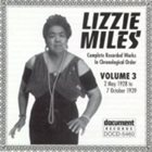 LIZZIE MILES Complete Recorded Works, Vol. 3 (1928-39) album cover