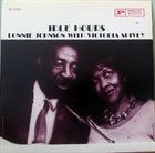 LONNIE JOHNSON Lonnie Johnson With Victoria Spivey : Idle Hours album cover