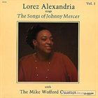 LOREZ ALEXANDRIA The Songs Of Johnny Mercer Vol.1 album cover