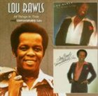 LOU RAWLS All Things in Time / Unmistakably Lou album cover