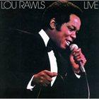 LOU RAWLS Lou Rawls Live album cover