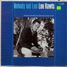 LOU RAWLS Nobody but Lou album cover