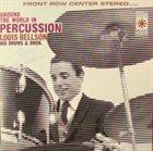 LOUIE BELLSON Around The World In Percussion album cover