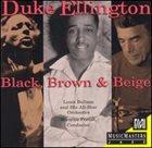 LOUIE BELLSON Black, Brown & Beige album cover