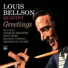 LOUIE BELLSON Greetings album cover