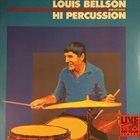 LOUIE BELLSON Hi Percussion album cover