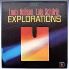 LOUIE BELLSON Louis Bellson / Lalo Schifrin : Explorations album cover