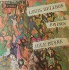 LOUIE BELLSON Louis Bellson Swings Jule Styne album cover