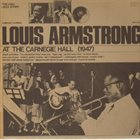 LOUIS ARMSTRONG At The Carnegie Hall album cover