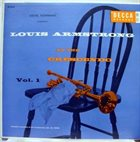 LOUIS ARMSTRONG At The Crescendo Vol. 1 album cover