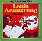 LOUIS ARMSTRONG High Society album cover