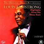 LOUIS ARMSTRONG Highlights From His Decca Years album cover
