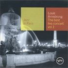 LOUIS ARMSTRONG Jazz in Paris: The Best Live Concert, Volume 1 album cover