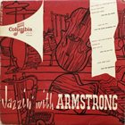 LOUIS ARMSTRONG Jazzin' With Armstrong album cover