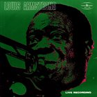 LOUIS ARMSTRONG Live Recording album cover