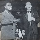 LOUIS ARMSTRONG Louis Armstrong & Bing Crosby Live Featuring: Joe Venuti And Jack Teagarden (aka On Stage) album cover