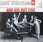 LOUIS ARMSTRONG Louis Armstrong and his Hot Five Volume 1 Album Cover