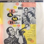 LOUIS ARMSTRONG Louis Armstrong And The Mills Brothers album cover