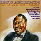 LOUIS ARMSTRONG Louis Armstrong in Concert at the Washington Theatre album cover