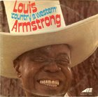 LOUIS ARMSTRONG Louis 'Country & Western' Armstrong album cover