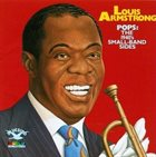 LOUIS ARMSTRONG POPS: The 1940's Small-Band Sides album cover