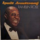 LOUIS ARMSTRONG Ramblin`Rose album cover