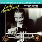 LOUIS ARMSTRONG Rhythm Saved the World album cover