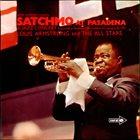LOUIS ARMSTRONG Satchmo At Pasadena album cover