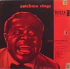 LOUIS ARMSTRONG Satchmo Sings album cover