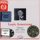 LOUIS ARMSTRONG Volume 2: 1923-1924 album cover